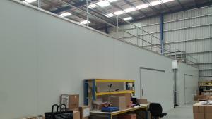 Cleanroom & Storage mezzanine floor