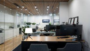 Example of Office mezzanine floors internal view