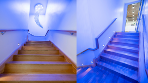 Example of Architectural Design Mezzanine Staircase