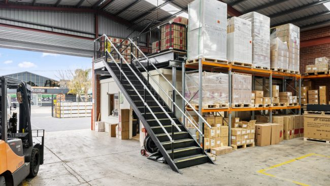 Image 1 MM Electrical Edwardstown - Structural Mezzanine