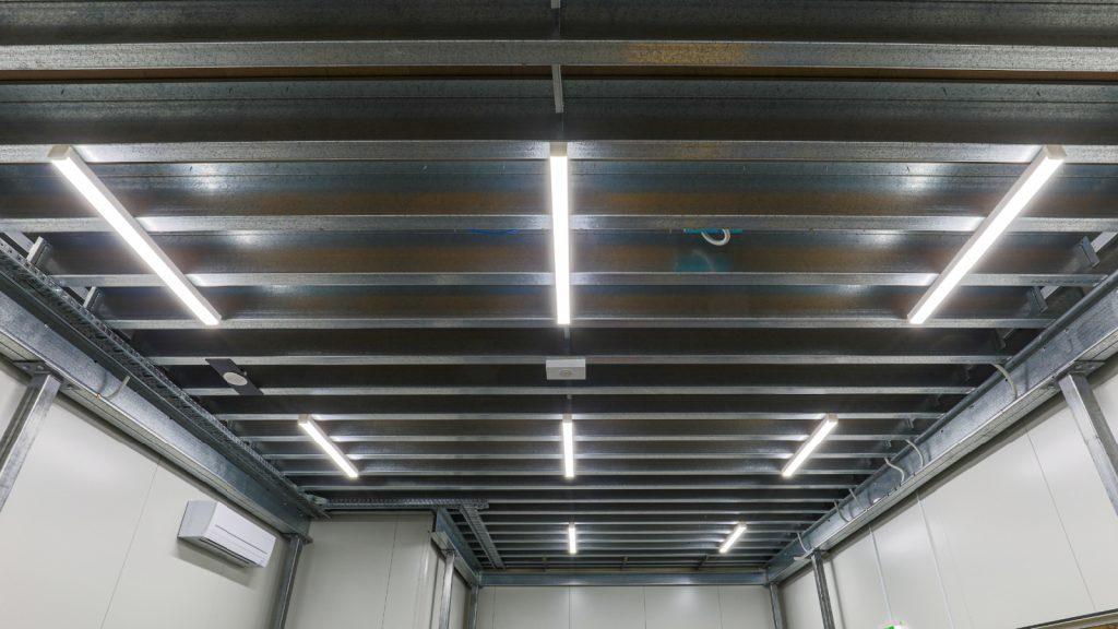 Example of Mezzanine Floor Lighting