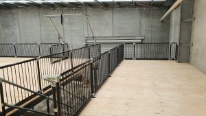 Example of Mezzanine Floor Balustrading