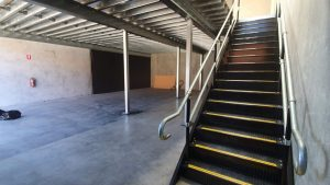 Example of Straight Mezzanine Floor Staircase