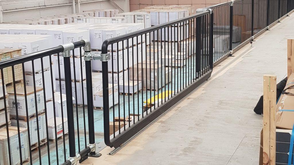 Example of Mezzanine Floor Sliding Gate